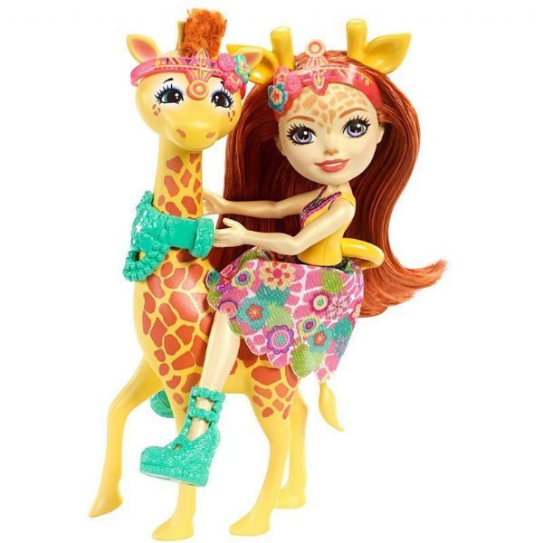 Mattel Enchantimals Gillian Giraffe - 4+ Years FCC62